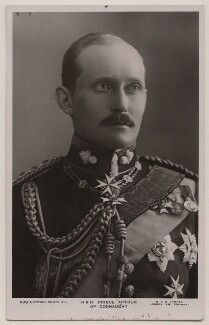Prince Arthur of Connaught, by W. & D. Downey, published by  Rotary Photographic Co Ltd, 1900s-1910s - NPG x6349 - © National Portrait Gallery, London
