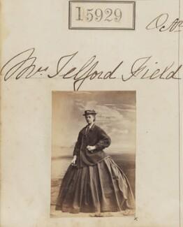 Clara R. Field (née Maudslay), by Camille Silvy - NPG Ax63859