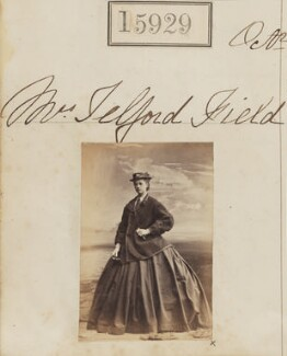 Clara R. Field (née Maudsley), by Camille Silvy - NPG Ax63859