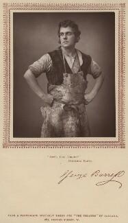 George Edward Barrett as Ben Chibbles in 'Hoodman Blind', by Herbert Rose Barraud, published by  Carson & Comerford - NPG x639