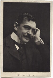 Arthur Bourchier, by Art Photogravure Co Ltd, after  Ernest Walter Histed - NPG x6414