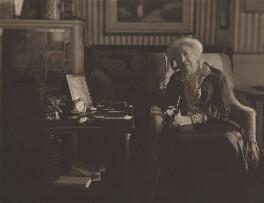 Constance Flower (née de Rothschild), Lady Battersea, by Olive Edis - NPG x644