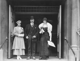 Sophia Nicholaievna, Countess de Torby; Mary Howe (née Curzon), Countess Howe; Michael Alexandrovich, Grand Duke of Russia, by Mrs Albert Broom (Christina Livingston), 1916 - NPG x645 - © National Portrait Gallery, London
