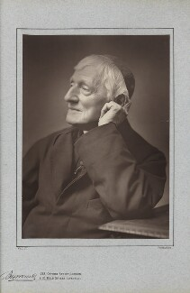 John Newman, by Herbert Rose Barraud, published by  Richard Bentley & Son, 1887, published 1888 - NPG Ax5406 - © National Portrait Gallery, London