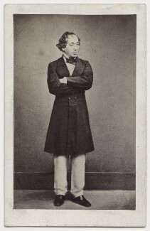 Benjamin Disraeli, Earl of Beaconsfield, by Henry Lenthall, after  William Edward Kilburn - NPG x650