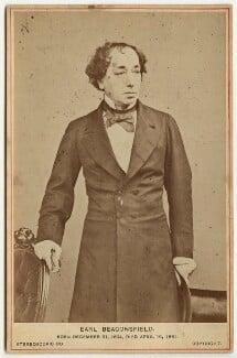 Benjamin Disraeli, Earl of Beaconsfield, by London Stereoscopic & Photographic Company, after  William Edward Kilburn - NPG x651