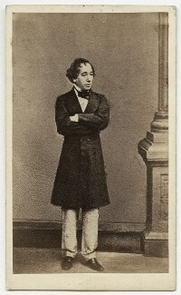 Benjamin Disraeli, Earl of Beaconsfield, by William Edward Kilburn - NPG x652