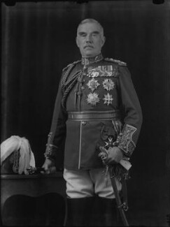 Sir William Robert Robertson, 1st Bt, by George Charles Beresford, 1924 - NPG x6569 - © National Portrait Gallery, London