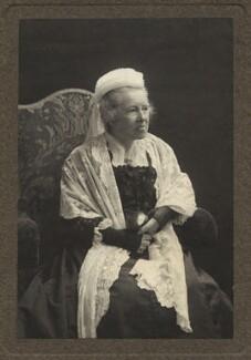 Elizabeth Garrett Anderson, by Olive Edis, and  Katharine Legat (née Edis) - NPG x66