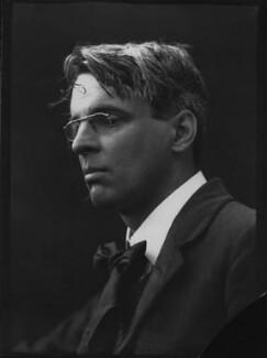 W.B. Yeats, by George Charles Beresford - NPG x6623