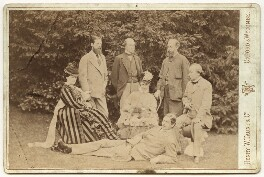 'Group taken at Hughenden Manor', by Henry William Taunt & Co - NPG x669