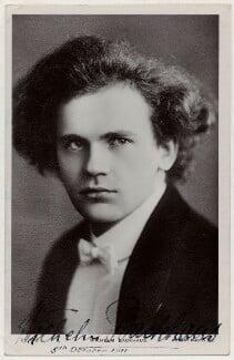 Wilhelm Backhaus, by Unknown photographer - NPG x676