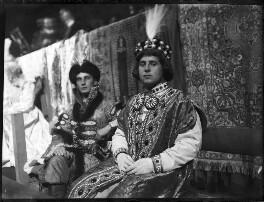 Prince Christopher of Greece and Denmark; Count Gluecksberg, by Mrs Albert Broom (Christina Livingston) - NPG x679