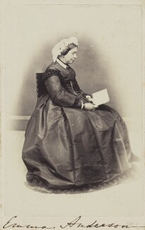 Emma Anderson, by Unknown photographer - NPG Ax68090