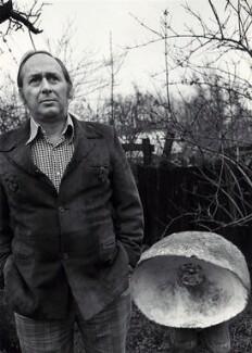 J.G. Ballard, by Fay Godwin - NPG x68239