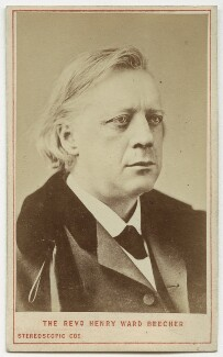 Henry Ward Beecher, by London Stereoscopic & Photographic Company - NPG x686