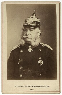 Wilhelm I, Emperor of Germany and King of Prussia, by Loescher & Petsch - NPG x6868