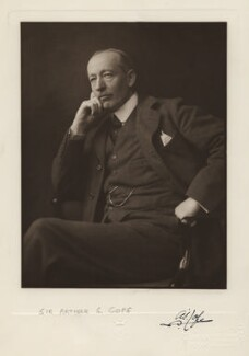 Sir Arthur Stockdale Cope, by H. Walter Barnett - NPG x6870