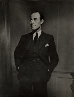 Gilbert James Heathcote-Drummond-Willoughby, 3rd Earl of Ancaster, by Rolf Mahrenholz, 1950s - NPG x68831 - © reserved; collection National Portrait Gallery, London