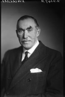 Robert Molesworth Kindersley, 1st Baron Kindersley, by Walter Stoneman, December 1945 - NPG x68845 - © National Portrait Gallery, London