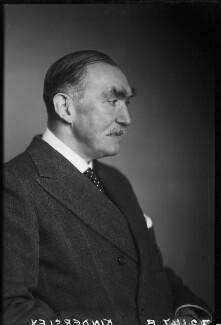 Robert Molesworth Kindersley, 1st Baron Kindersley, by Walter Stoneman, December 1945 - NPG x68846 - © National Portrait Gallery, London