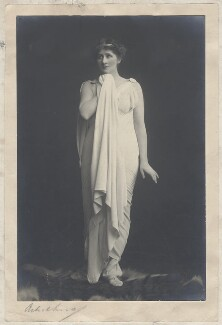 Mary Anderson (Mrs de Navarro) as Galatea, by Malcolm Arbuthnot - NPG x68857
