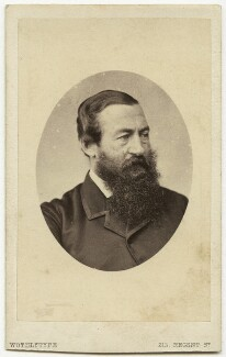 Sir Samuel White Baker, by United Association of Photography Limited - NPG x68858