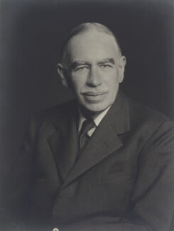 John Maynard Keynes, Baron Keynes, by Walter Stoneman - NPG x68881