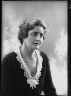Dame Rachel Eleanor Crowdy, by Bassano Ltd - NPG x68897