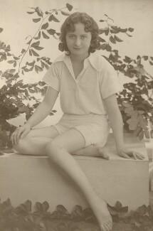 Lallie Charles Cowell (née Martin), by Rita Martin - NPG x68953