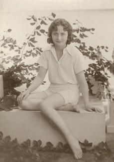Lallie Charles Cowell (née Martin), by Rita Martin - NPG x68954