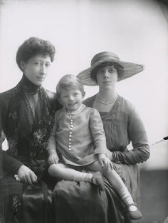 Duchess of Fife and family, by Lallie Charles - NPG x68962