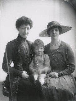 Duchess of Fife and family, by Lallie Charles - NPG x68963