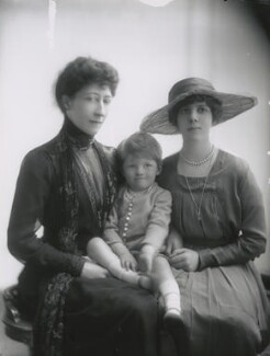 Duchess of Fife and family, by Lallie Charles - NPG x68965
