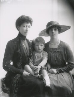 Duchess of Fife and family, by Lallie Charles - NPG x68966