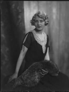 Bessy (née Surtees), Viscountess Gort, by Lafayette - NPG x69087