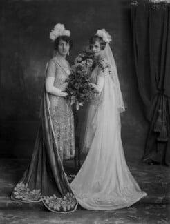 Hon. Griselda Etheldreda Clodagh Christopherson (née O'Brien); Ethel Jane (née Foster), Lady Inchiquin, by Lafayette - NPG x69110