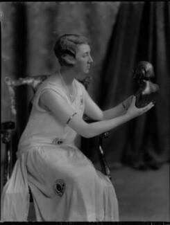 Violet Olivia Cressy-Marcks (née Rutley, later Fisher), by Lafayette - NPG x69134