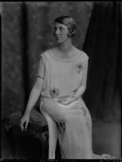 Violet Olivia Cressy-Marcks (née Rutley, later Fisher), by Lafayette - NPG x69135