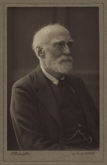 Sir (Thomas) Hugh Bell, 2nd Bt, by J. Weston & Son - NPG x692