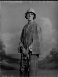 Violet Olivia Cressy-Marcks (née Rutley, later Fisher), by Lafayette - NPG x69206