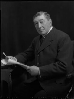 Gilbert Greenall, 1st Baron Daresbury, by Lafayette - NPG x69441