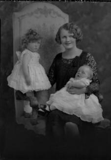 Jean Rosemary Vera Winch (née Cary); Elizabeth-Ann Beril Nelson (née Cary); Joan Sylvia Cary (née Southey), Viscountess Falkland, by Lafayette - NPG x69495