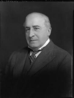 Sir Edmund Davis, by Lafayette - NPG x69599
