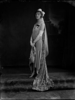 Elsie Elizabeth (née Stewart), Lady Allardyce, by Lafayette (Lafayette Ltd), 26 June 1929 - NPG x69604 - © National Portrait Gallery, London
