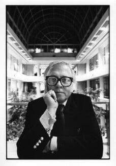 Richard Attenborough, by Jillian Edelstein, 1985 - NPG x31005 - © Jillian Edelstein / Camera Press