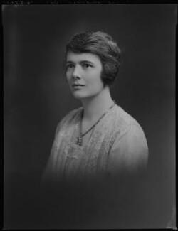 Aileen Grace (née Smyly), Lady Smyly, by Lafayette - NPG x69796