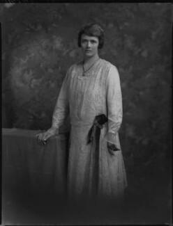 Aileen Grace (née Smyly), Lady Smyly, by Lafayette - NPG x69799