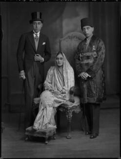 Sir Ali Khan Zulfikar, by Lafayette - NPG x69802