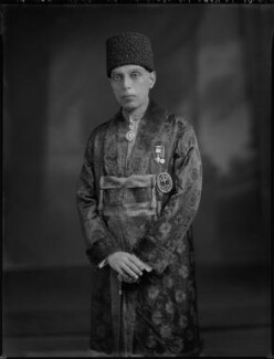 Sir Ali Khan Zulfikar, by Lafayette - NPG x69804